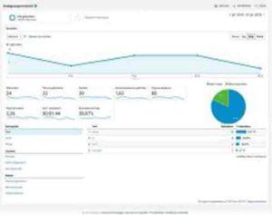 online marketing Google Analytics GA webanalyse doelgroepoverzicht