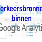 online marketing Google Analytics GA webanalyse web analytics Alle Verkeer