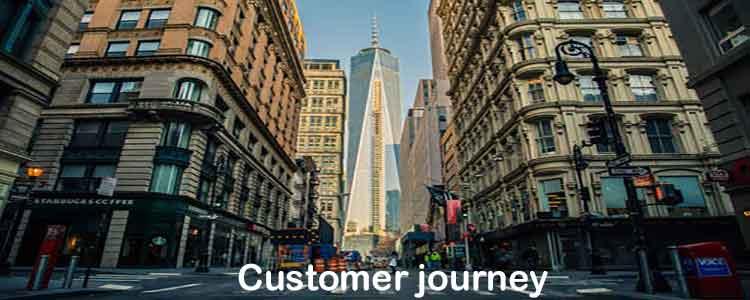 online marketing customer journey klantreis analyse mapping, bewustzijn fase, overwegingsfase, aankoop fase, loyaliteitsfase