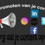 online marketing het promoten content contentmarketing