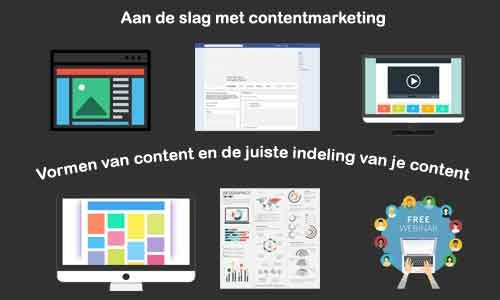online marketing vormen van content contentmarketing