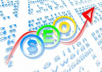 zoekmachine optimalisatie SEO organische zoekresultaten hoger in google scoren komen search engine optimization